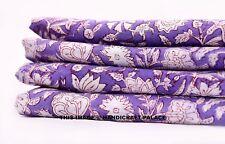 5 Yard Cotton Voile Hand Block Print Fabric Natural Dyes Sanganer Indian cotton