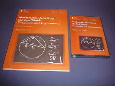 Teaching Co Great Courses Mathematics  DVDs   PRECALCULUS  TRIGONOMETRY     new