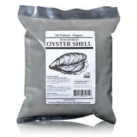 Oyster Shell Powder - Organic Ground Oyster Shell for Chickens and Plants (5lbs)