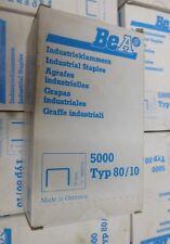 BEA Industrieklammern 80/10 Alu Tacker Tackerklammern