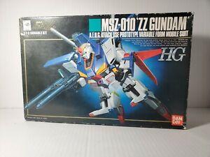 Vintage HG ZZ Gundam 1991 Model Kit 1/144 MSZ-010 Double Zeta