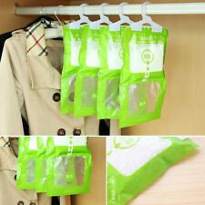 100g Interior Dehumidifier Desiccant Damp Storage Hanging Bags Wardrobe Rooms