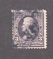 United States stamp #253, used,1894, SCV $13.00