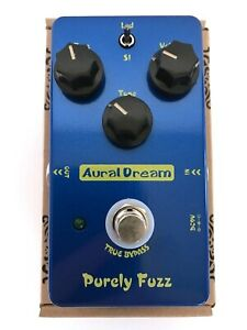 New Aural Dream Purely Fuzz Analog Guitar Effect Pedal