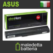 Batteria 10.8-11.1V 5200mAh REALI, EQUIVALENTE asus A32-K52 A41K52