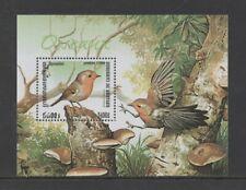 CAMBODIA 1999 BIRDS (European Robin) M/SHEET *VF MNH*