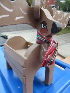 Unique Wooden Reindeer Box