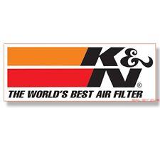 K&N RACING STICKER VINYL DECAL Aufkleber Adesivo Autocollant