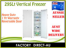 HEAVY DUTY 295LT UPRIGHT / VERTICAL FREEZER RRP$1050 $$$ HUGE SAVE $$$
