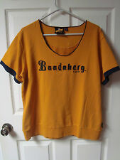 Vintage Bundaberg Rum Ladies Size 18 Shirt Sewn Logos and Lettering
