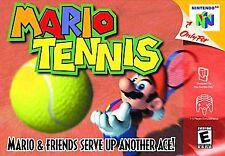 Mario Tennis (Nintendo 64, 2004) CART ONLY
