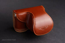 Handmade Genuine real Leather Full Camera Case bag Cover for Samsung NX1000