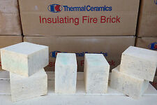 "K-20 Insulating Firebrick IFB 4.5"" x 4.5"" x .75"" Thermal Ceramics Fire Brick K20"