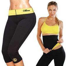 HOT SHAPERS tuta completo fascia e pantaloni sauna dimagrante fitness sport