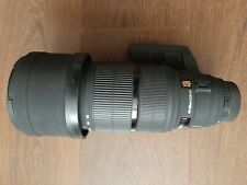NIKON Fit Sigma APO EX DG HSM 120 - 300 mm F2.8 Lente + Tapas + Capucha 120-300 2.8