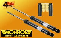 MONROE 2x REAR Shock Absorbers DAMPERS VAUXHALL OPEL CORSA  D MK III MK3 PUNTO