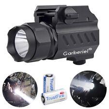 Garberiel LED Tactical stund Gun Flashlight 2Mode Pistol Torch Light for Hunting