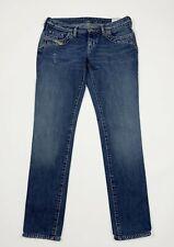 Diesel jeans kycut donna usato W30 tg 44 slim denim used jeans boyfriend T5336