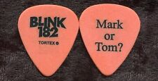 BLINK 182 2003 Concert Tour Guitar Pick!!! TOM DeLONGE custom stage Pick #2