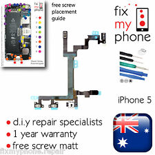iPhone 5 5G Power Button Volume Slient On Switch Flex Cable Tools