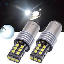 White 1157 BAY15D 15 SMD 2835 LED Car Light Canbus Error Free Non-polar Bulb 12V