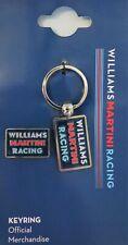 Williams Martini Racing F1 Formula One Keychain & Lapel Pin Set, Metal, NIP