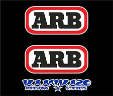 ADHESIVE STICKER STICKER AUTOCOLLANT ADESIVI AUFKLEBER DECAL X 2 ARB