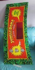 "Jungle Rama by Lazer-Tron Plexi Glass Arcade Video Game Marquee 50"""