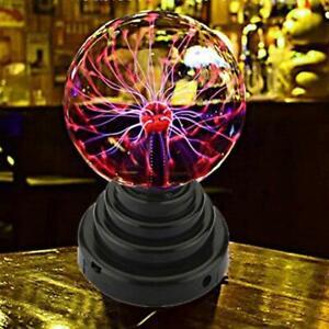 Electric Plasma Ball Magic Lava Globe Party Night Light Lamp Touch Sensitive
