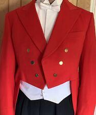 Full Authentic Toastmaster Uniform ,Tailcoat,waistcoat,shirt,bow tie,2 Trousers.