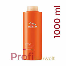 Wella Care Enrich Volumen Shampoo für feines Haar, 1000 ml