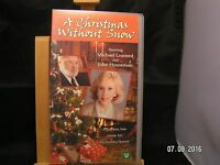 A Christmas Without Snow (VHS, 2002)