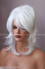 White High Cone Beehive Womens/Mens Drag?  Wicked Shoulder Length Wig