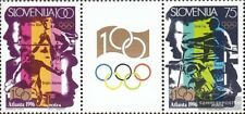 slovenia 151-152 triple strip mint never hinged mnh 1996 Olympics Summer