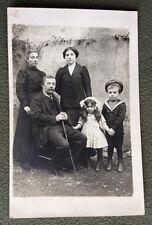 CPA. Phographie Famille. VIZILLE. 38. Costume Marin. Mode Enfant. Paris.