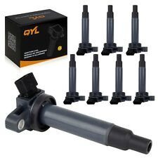 8 PC Ignition Coil Pack for 2000-09 Toyota Tundra V8 4.7L for 98-07 Lexus LX470