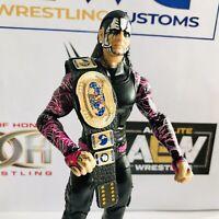 WWE Faux Leather Retro Intercontinental Title for Mattel/Jakks/Hasbro Figures