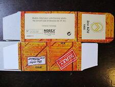 BOITE VIDE NOREV  CITROEN 2CV AZU  1955  EMPTY BOX CAJA VACCIA