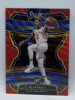 2019 20 Panini Select Concourse Red Prizm Wave RJ Barrett Rookie RC #21 Knicks