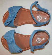 Wonder Nation Girl's Size 8 - Denim Knotted Sandal - Save on 2 or more