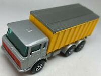 Matchbox Lesney Superfast No 57 DAF Tipper Container Truck - VNM