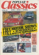 POPULAR CLASSICS OCT 90-FREE SUPPLEMENT-TRIUMPH VITESSE BMW 1602-49 CHEVY-FARINA