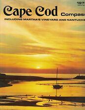 Cape Cod Compass Martha's Vineyard Nantucket 1973 Gray Gables 1846 Fire