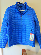 Mens New North Face Thermoball Jacket Size Small Color Bomber Blue