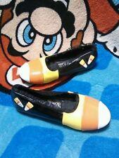Funtasma Candy Corn Girl Maryjane Flats Shoes Sz 13 Halloween Costume Dress-Up