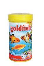 Aquarium Tank Goldfish Flake Food for Coldwater / Freshwater Fish - 250 ml
