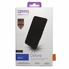 Gear4 Oxford Case for Samsung Galaxy Note 8 with D30 Impact Protection - Black