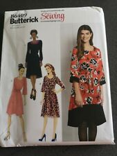 Butterick love sewing B6409 dress sewing pattern uncut sizes XS-XXL