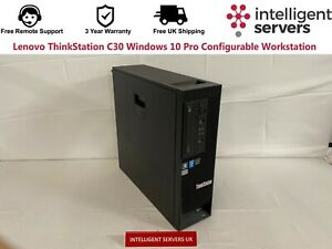 Lenovo ThinkStation C30 Windows 10 Pro Configurable Workstation