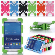 """Silicone Stand Case Cover For 7""""Inch Samsung iPad Lenovo ASUS LG RCA Acer Pad PC"""